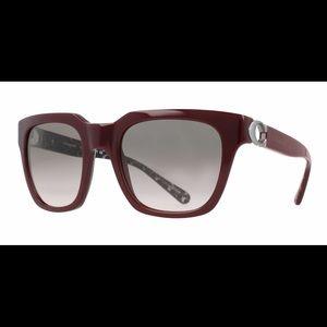 NWOT Coach Maroon Red Sunglasses